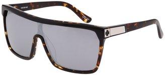 Spy Optic Flynn (Black/Tortoise - Grey/Black Mirror Lens) - Eyewear