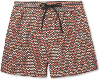 Paul Smith Mid-Length Printed Swim Shorts