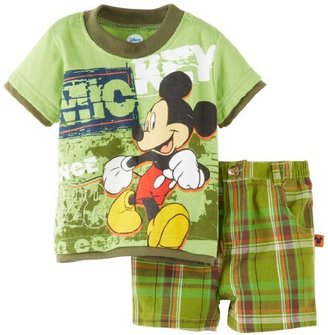 Disney Baby-Boys Infant 2 Piece Knit Pullover And Short