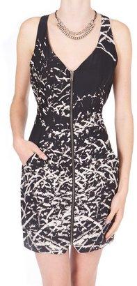 Parker Zip Front Dress