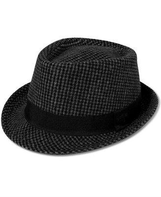 Sean John Hat, Wool Plaid Fedora