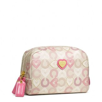 Waverly Hearts Small Cosmetic Case