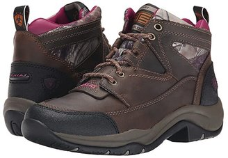 Ariat Terrain (Distressed Brown/Camo) Women's Lace-up Boots