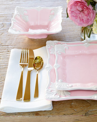 """Gorham Five-Piece """"Argento Gold Luster"""" Flatware Place Setting"""