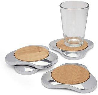 Nambe Zen Coasters, Set of 4