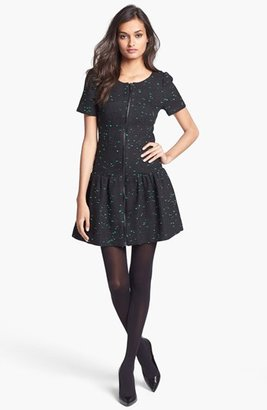 Milly Short Sleeve Drop Waist Dress