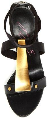 Steve Madden Keyshia Cole Mixx Metal T-Strap Sandal