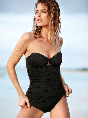 Victoria's Secret Secret by Swim Ruched One-piece