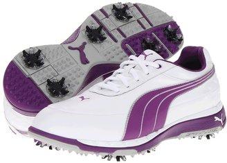 Puma Faas Trac (White/Bright Violet) - Footwear