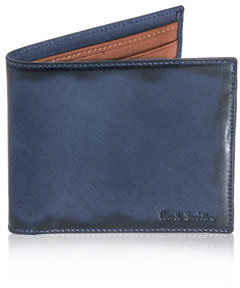 Paul Smith Burnished edge wallet