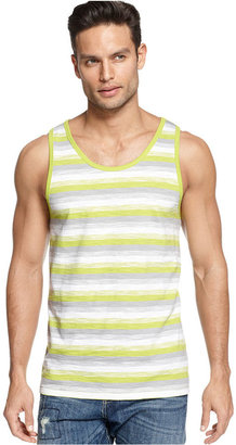 INC International Concepts T-Shirt, Slub Stripe Tank