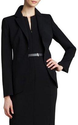 Akris Hook-and-Eye Jacket $3,700 thestylecure.com