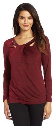 Sag Harbor Womens Malone Knit Top