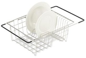 Polder Expandable Over-the-Sink Stainless Steel Dish Drainer