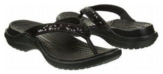 Crocs Women's Capri Sequin Flip Flop Sandal