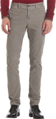 Incotex Corduroy Slim Fit Trousers