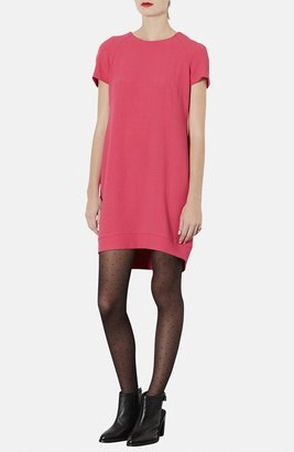 Topshop Crepe Shift Dress
