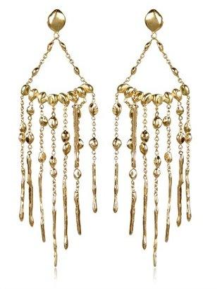 Natasha Collis Chandelier Nugget Earrings