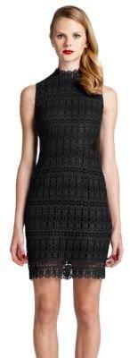 Cynthia Steffe Sleeveless Lace Sheath Dress