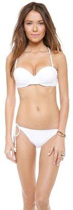 Shoshanna Emery Mills Eyelet Bikini Top