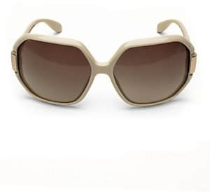 Marc by Marc Jacobs Square Sunglasses: Ivory
