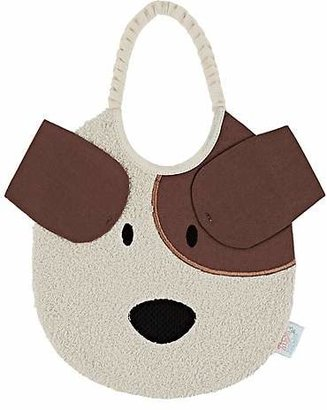 Zigozago Puppy Bib - Cream
