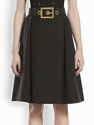 Gucci Wool Full Skirt