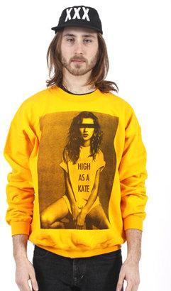 Kate Moss Rum & Koke HIGH AS A KATE (MOSS) Crewneck
