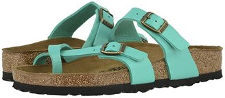 Birkenstock Mayari (Blue Oiled Leather) Women's Sandals