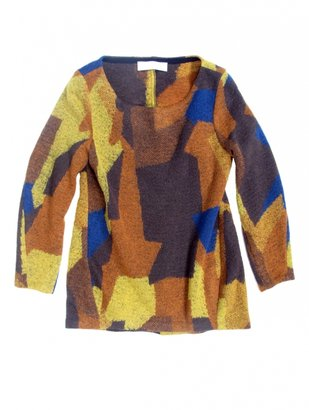Thakoon Patchwork Coating Pullover