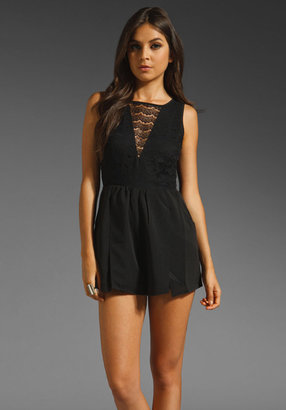 Finders Keepers Wages of Love Playsuit