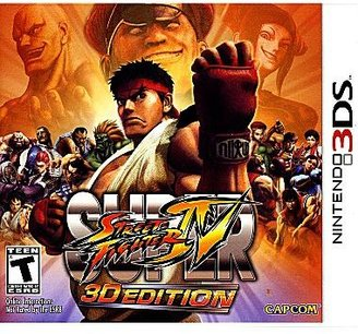 Nintendo 3DSTM Super Street Fighter IV