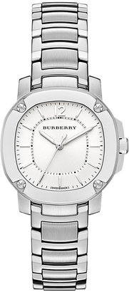 Burberry Watch, Women's Swiss The Britain Stainless Steel Bracelet 34mm BBY1703 $1,295 thestylecure.com