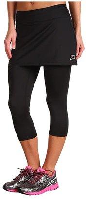 SkirtSports Skirt Sports Lotta Breeze Capri (Black) Women's Skort