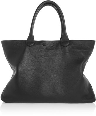Burberry Textured-leather tote