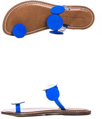 Bernardo 1946 Leather Moon sandals