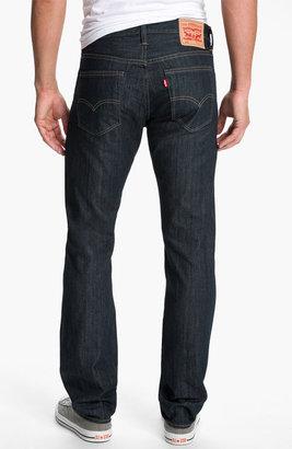 Levi's '513' Slim Straight Leg Jeans (Rumpled Rigid)