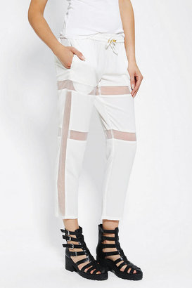 Urban Outfitters Cameo Megalomania Sheer Stripe Pant