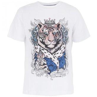 Roberto Cavalli Tiger Print Tee