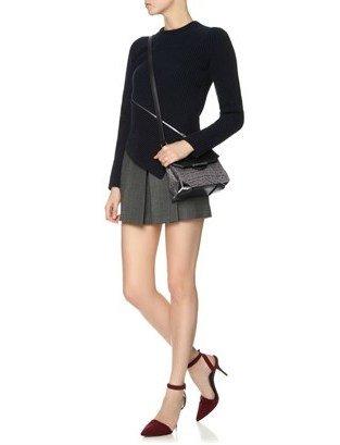 Alexander Wang Oyster Leather Prisma Marion Bag