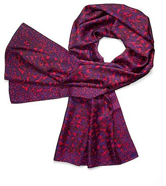Tory Burch Mix Scale Panthra Scarf