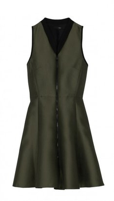 Tibi Simona Jacquard Zip Front Dress