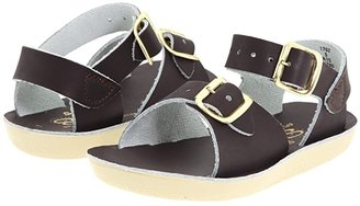 Salt Water Sandal by Hoy Shoes Sun-San - Surfer (Toddler/Little Kid) (Brown) Kid's Shoes