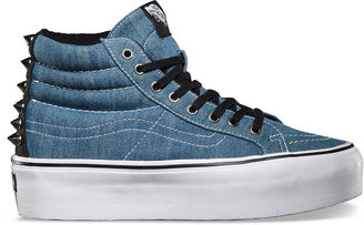 Vans Studded Sk8 Hi Platform Womens Shoes