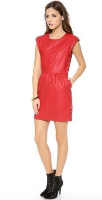 Rachel Zoe Antonia Leather Dress