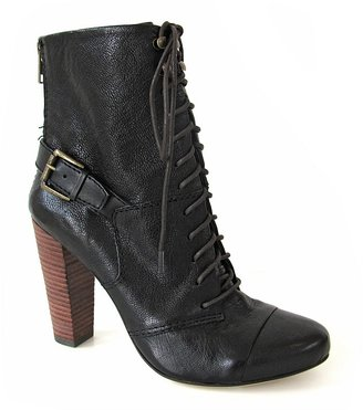 Plenty by Tracy Reese Lace Up Booties - Rebel