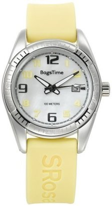 Rosato Bags Time by Simona Men's RBW04340 Yellow Band Watch