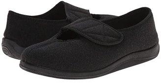 Foamtreads Kendale (Black Wool) Men's Slippers