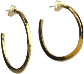 Gorjana Arc Small Hoops (Gold) - Jewelry