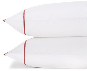 Matouk Ansonia Percale King Pillowcase, Pair